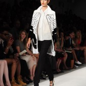 New York Fashion Week - Dennis Basso Spring/Summer 2014